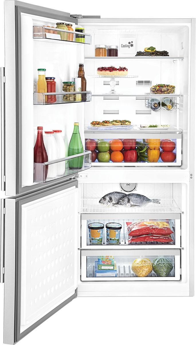 30 Inch Bottom Freezer Refrigerator Led Lighting