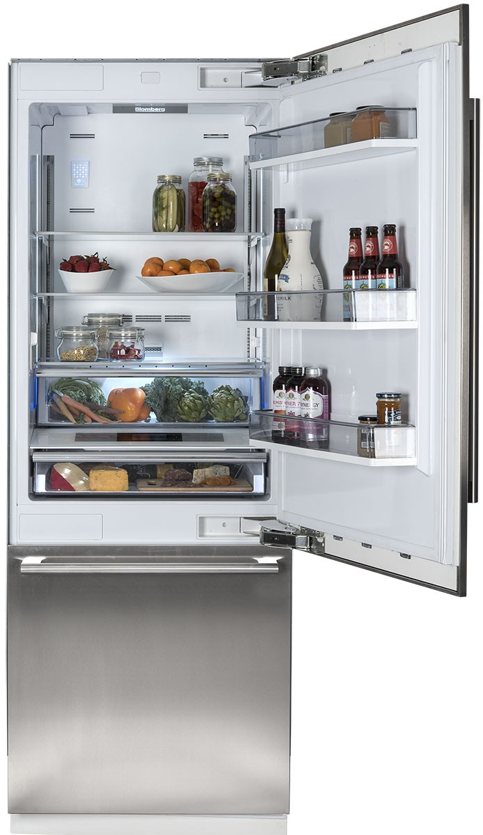 30 Inch Fully Integrated Built In Bottom Freezer