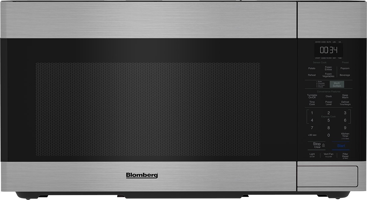 "30"" Over the Range Push Button Microwave"