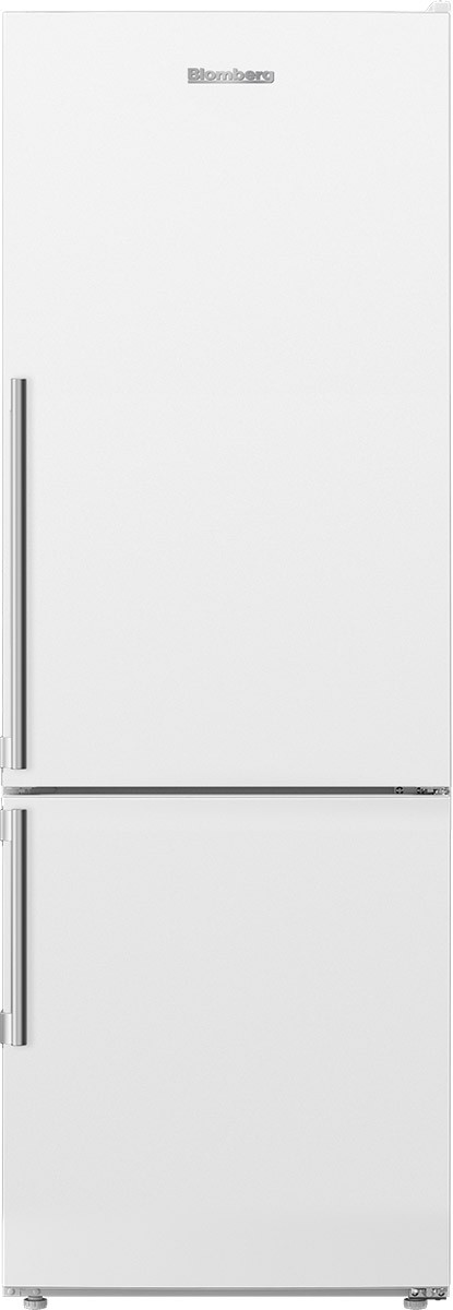 "24"" Counter Depth 11.43 cu. ft. Bottom Freezer Refrigerator White"