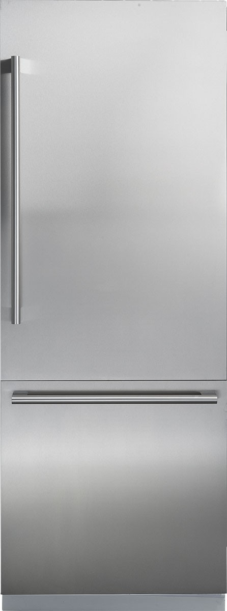 "30"" Fully Integrated Built-In Bottom-Freezer Refrigerator"