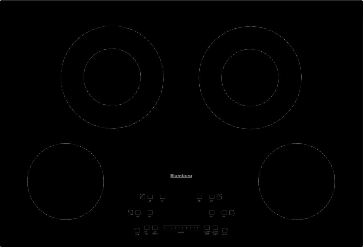 "30"" Touch Control Electric Cooktop"