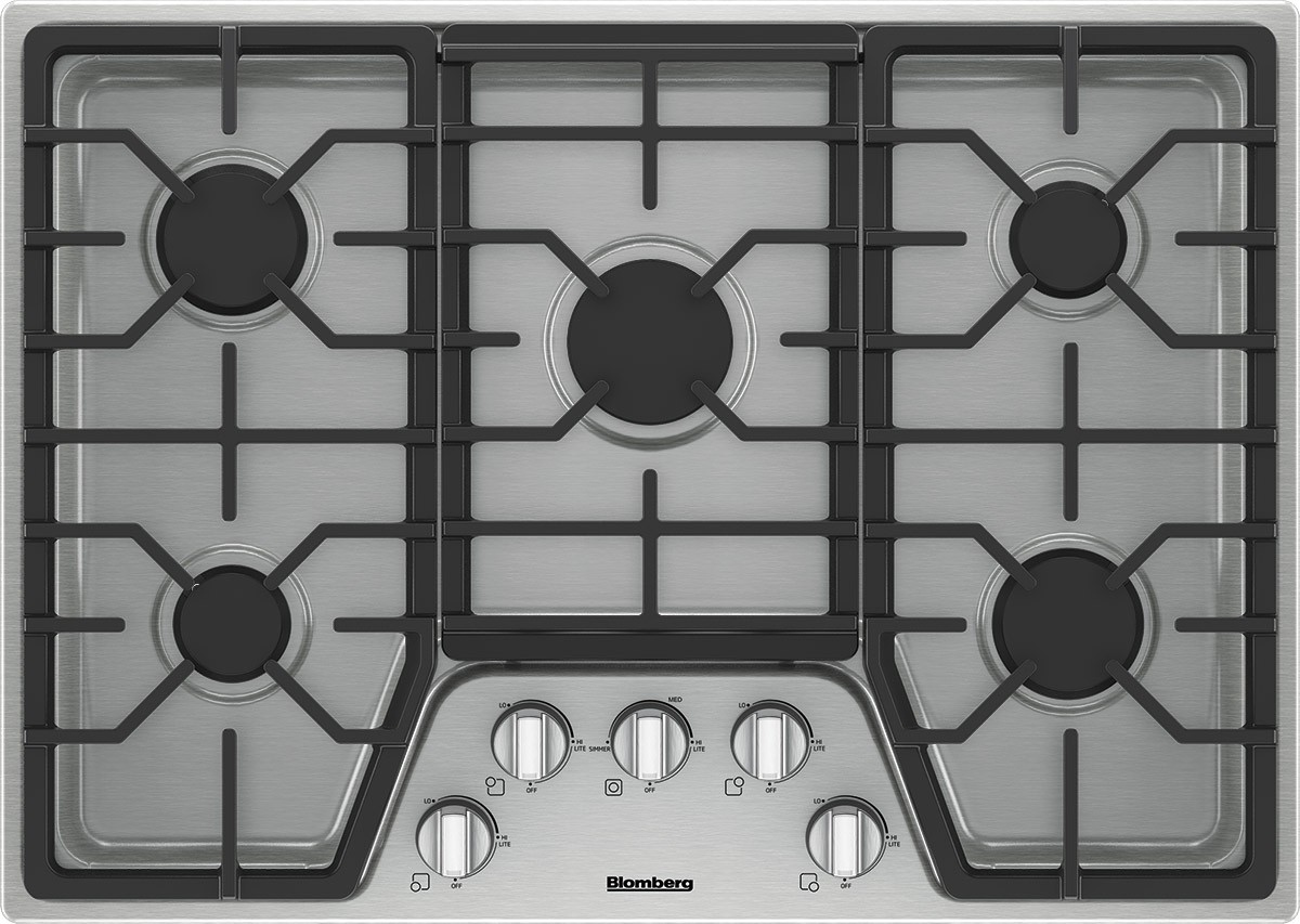30 Inch Gas Cooktop Stainless Steel Knob Control