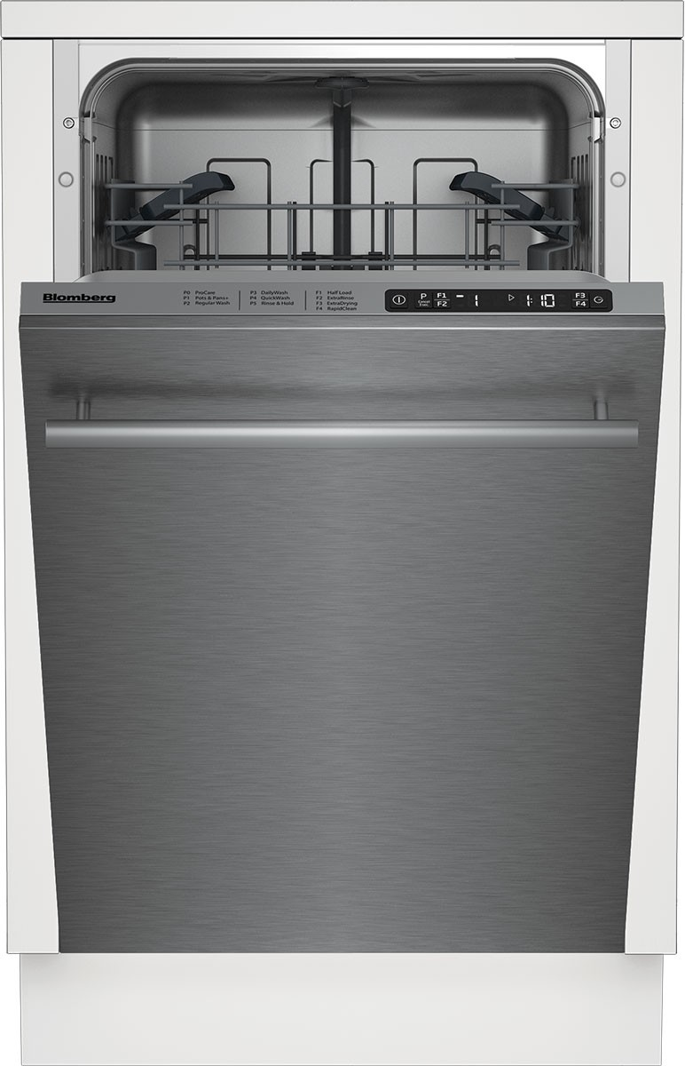 18 Inch Top Control Slim Dishwasher Stainless Steel Interior